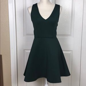 Forest Green Party dress